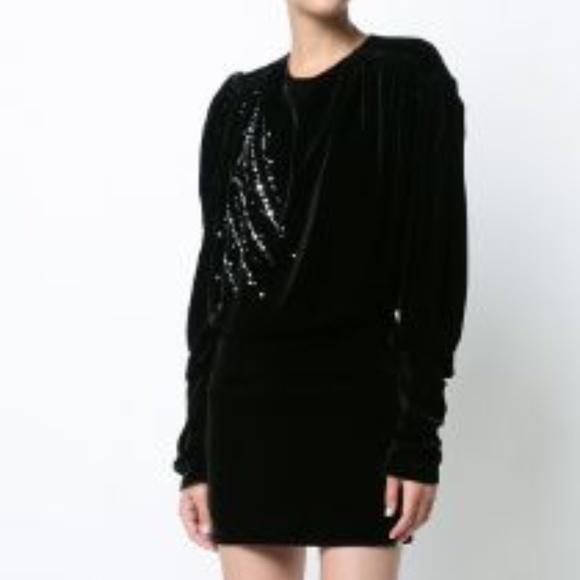 Magda Butrym Dresses & Skirts - Magda Butrym Bogota Velvet Dress